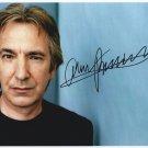 "Alan Rickman Robin Hood, Sweeney Todd 8 x 10"" Autographed Photo (Ref:1043)"
