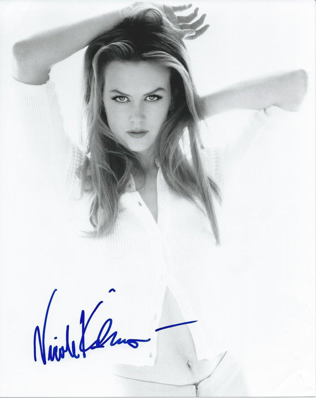 """Nicole Kidman Aquaman, The Destroyer 8 x 10"""" Autographed Photo (Reprint:1047)"""