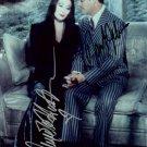 "Raul Julia & Anjelica Huston The Addams Family 5 x 7"" Autographed Photo (Reprint :1055)"