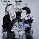 """Rare - Al Lewis & Butch Patrick (The Munsters) 8 x 10"""" Autographed Photo (Reprint:1065)"""