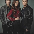 "Ian Somerhalder & Paul Wesley The Vampire Diaries 8 x 10"" Autographed Photo (Reprint:1073)"