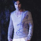 "Ian Somerhalder / The Vampire Diaries  8 x 10"" Autographed Photo - (Ref:1096)"
