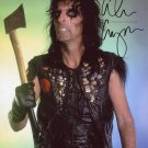 "Alice Cooper 8 x 10"" Autographed Photo - (Reprint 1103) ideal for Birthdays & X-mas"