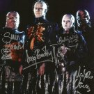 "Hellraiser Cast x 4 Bradley, Wilde, Vince & Bamford 8 x 10"" Autographed Photo - (Reprint:1109)"