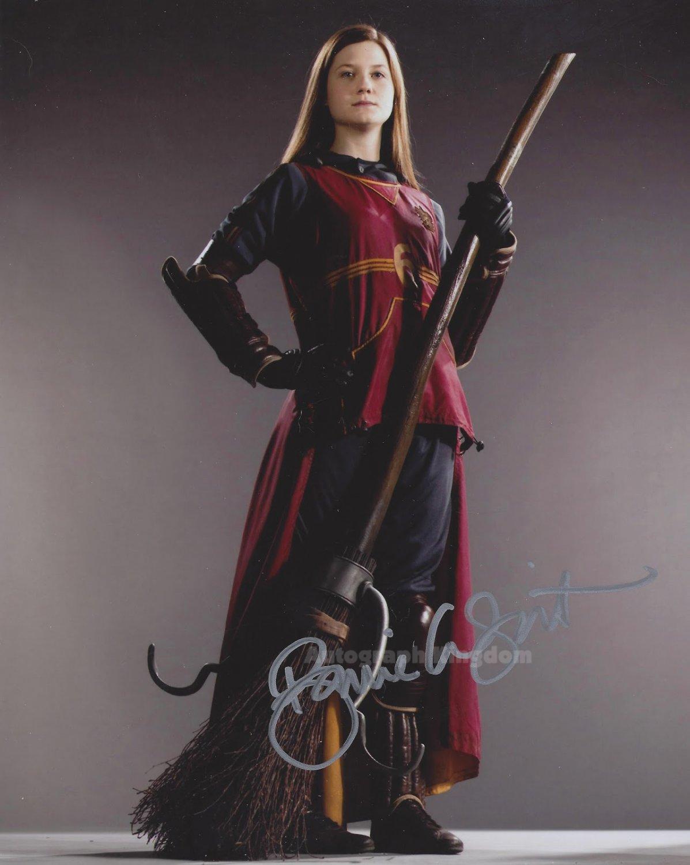 """Bonnie Wright (Harry Potter) 8 x 10"""" Autographed Photo (Ref:1112)"""