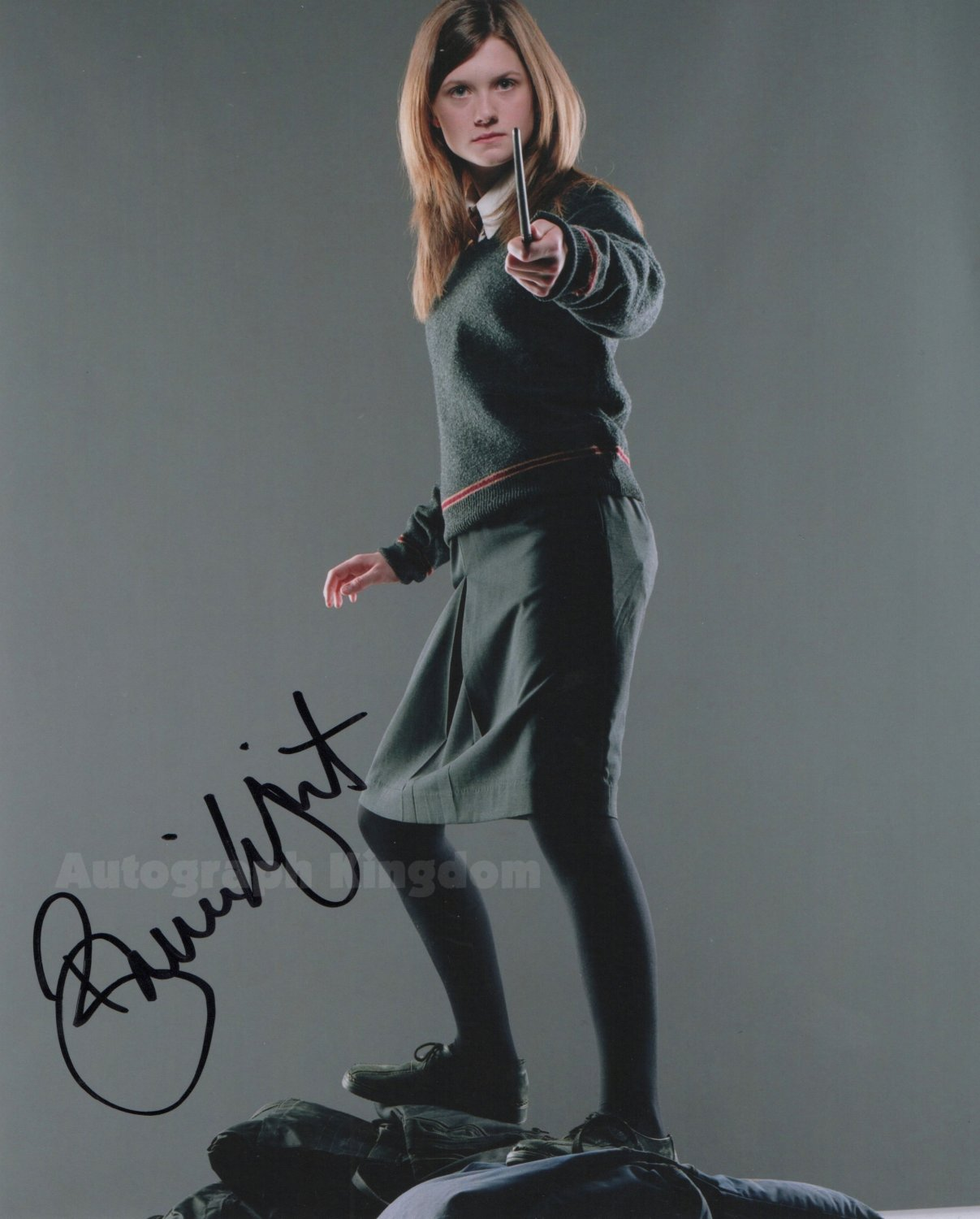 "Bonnie Wright (Harry Potter) 8 x 10"" Autographed Photo (Ref:1113)"