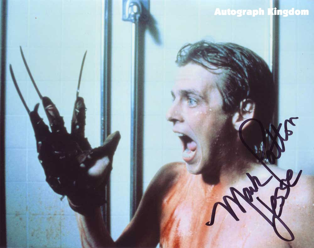 "Mark Patton A Nightmare on Elm Street Pt 2 8 x 10"" Autographed Photo (Ref:1118)"