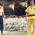 "John Saxon Enter The Dragon 8 x 10"" Autographed Photo (Ref:1121)"