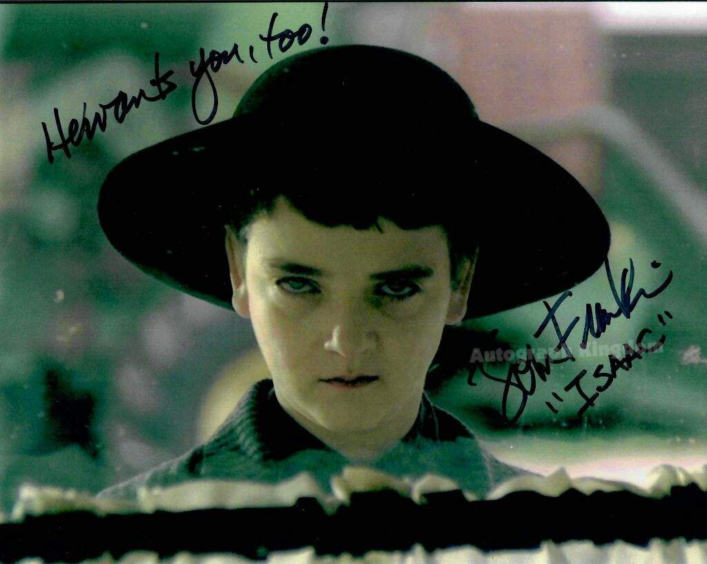 "John Franklin (Children Of The Corn) 8 x 10"" Autographed Photo (Ref:1122)"
