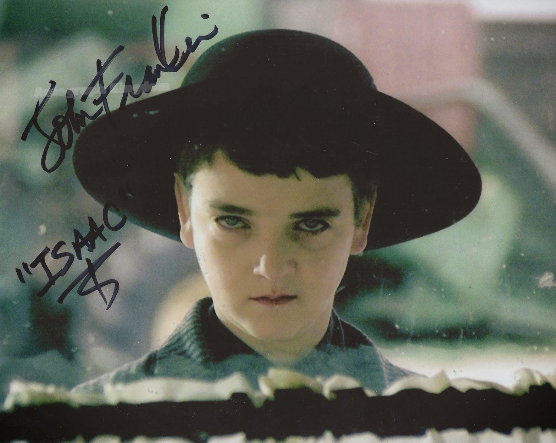 "John Franklin (Children Of The Corn) 8 x 10"" Autographed Photo (Ref:1123)"
