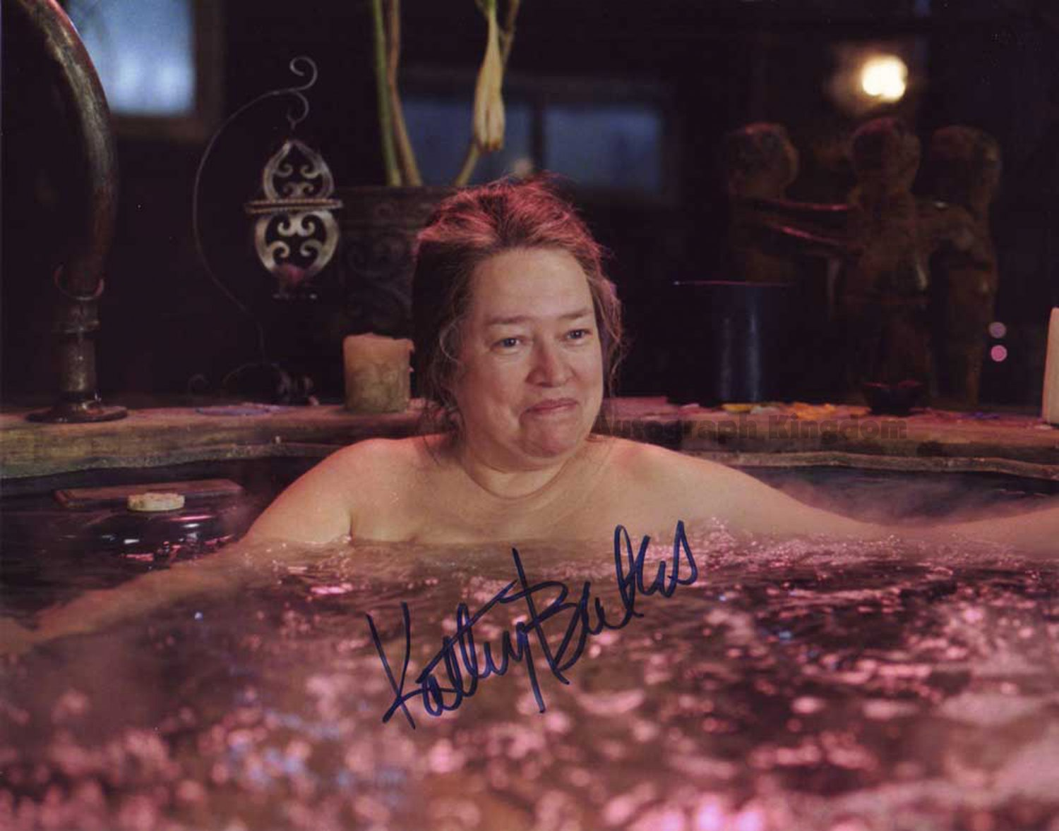 """Kathy Bates (American Horror Story) 8 x 10"""" Autographed Photo (Ref:1127)"""