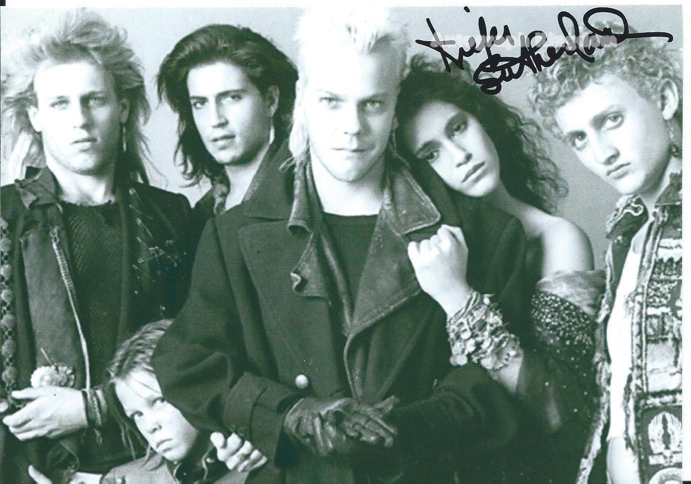 "Keith Sutherland The Lost Boys 8 x 10"" Autographed Photo - (Ref:1128)"