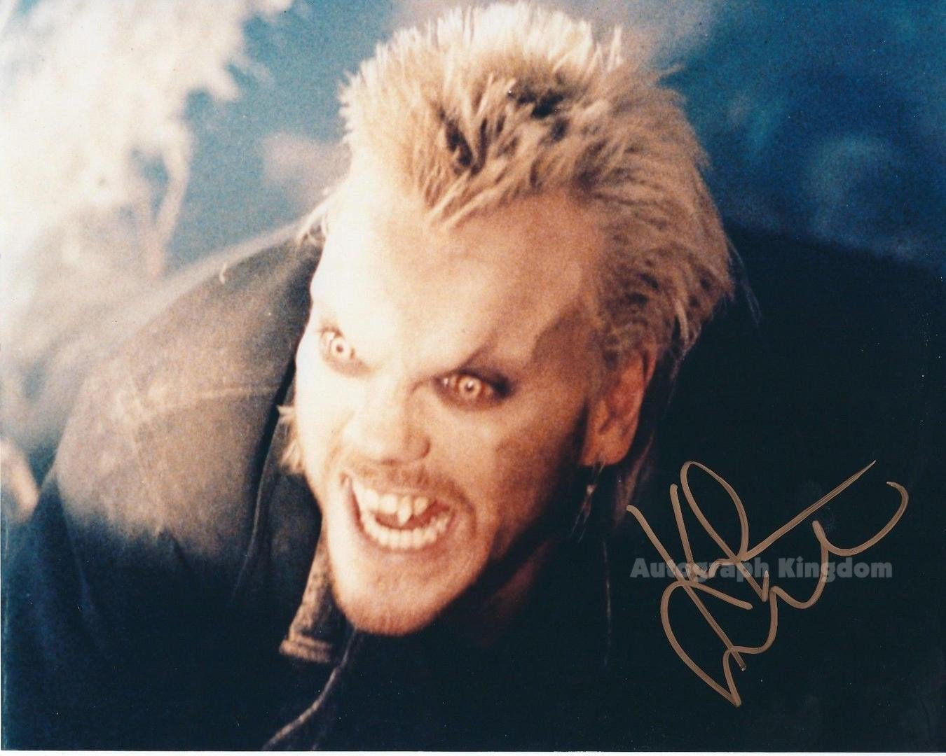 """Keith Sutherland The Lost Boys 8 x 10"""" Autographed Photo - (Ref:1129)"""