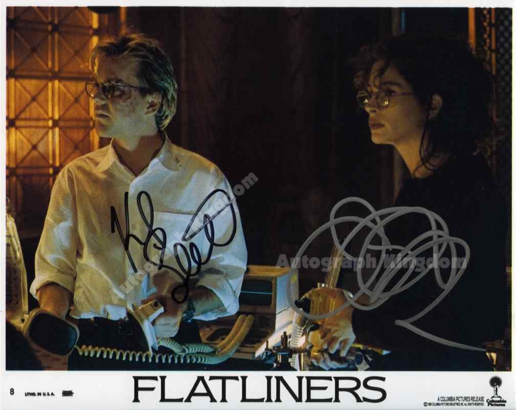 "Keith Sutherland & Julia Roberts ""Flatliners "" 8 x 10"" Autographed Photo - (Ref:1130)"
