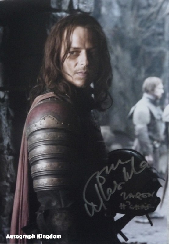"""Tom Wlaschiha Game Of Thrones 8 x 10"""" Autographed Photo - (Ref:1132)"""