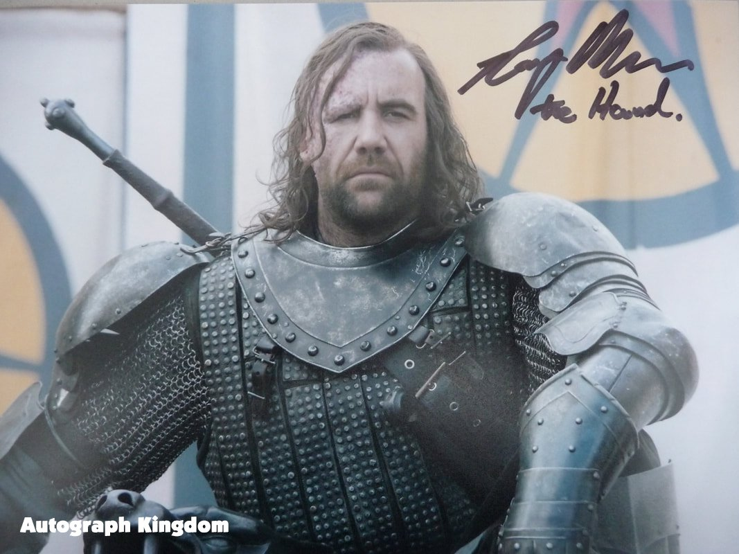 """Rory McCann Game Of Thrones 8 x 10"""" Autographed / Signed Photo (Reprint :1133) FREE SHIPPING"""