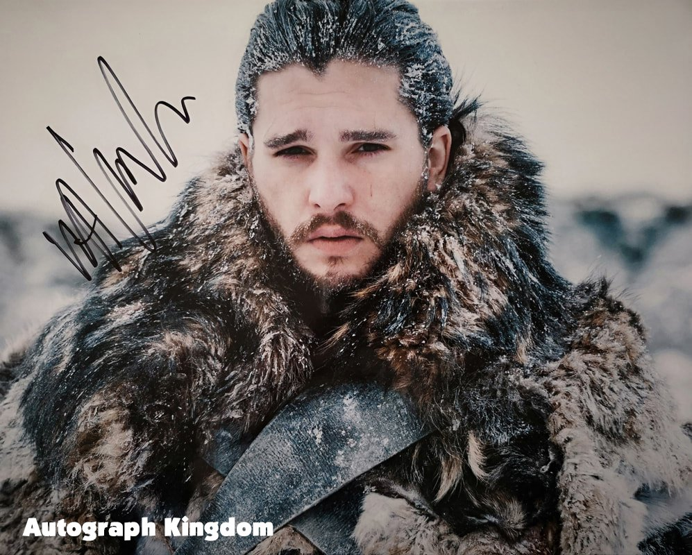 "Kit Harington (Game Of Thrones / John Snow) 8 x 10"" Autographed Photo   - (Reprint:1135)"