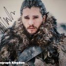 "Kit Harington 8 x 10"" Autographed  Photo John Snow Game Of Thrones (Reprint:1135) Great Gift Idea!"