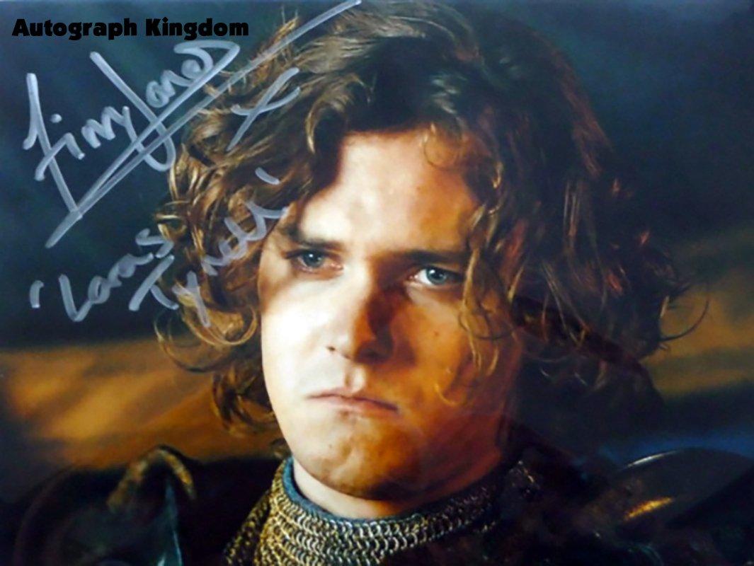 "Finn Jones Game Of Thrones 8 x 10"" Autographed Photo - (Ref:1139)"