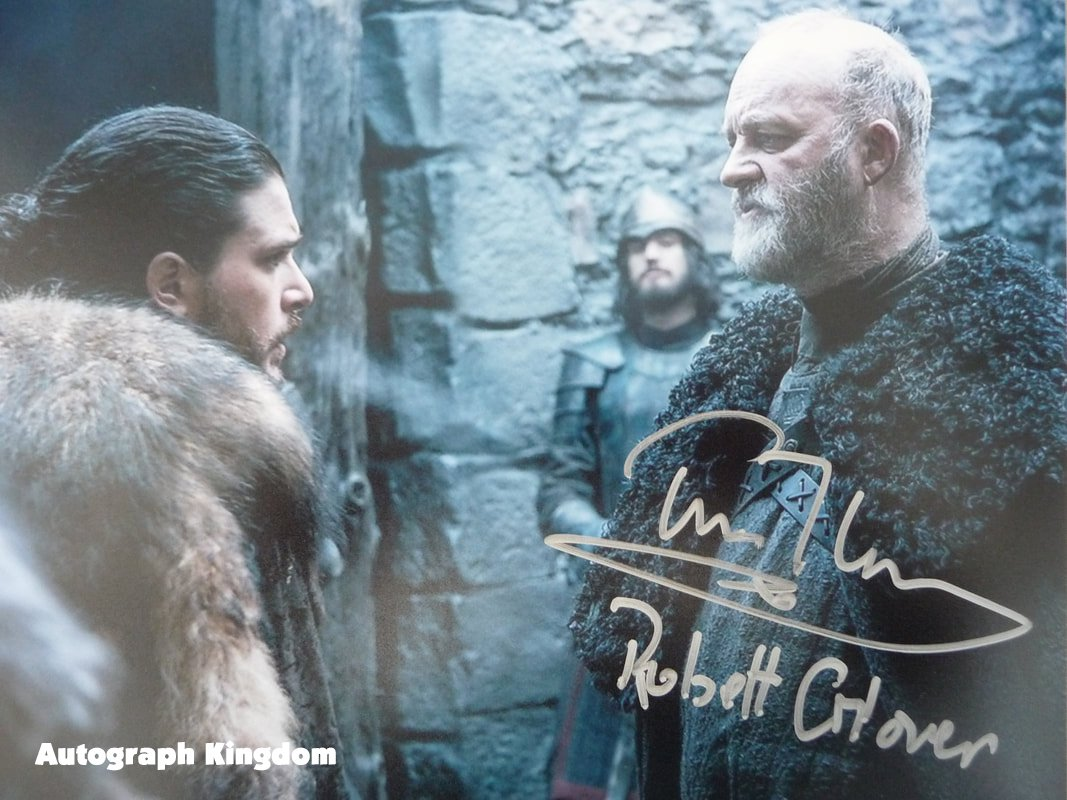 "Tim McInnerny Game Of Thrones 8 x 10"" Autographed Photo - (Ref:1136)"