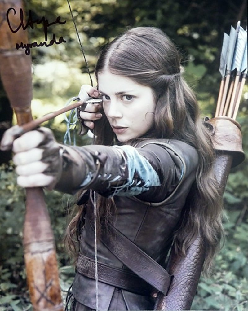 "Charlotte Hope Game Of Thrones 8 x 10"" Autographed Photo - (Ref:1140)"