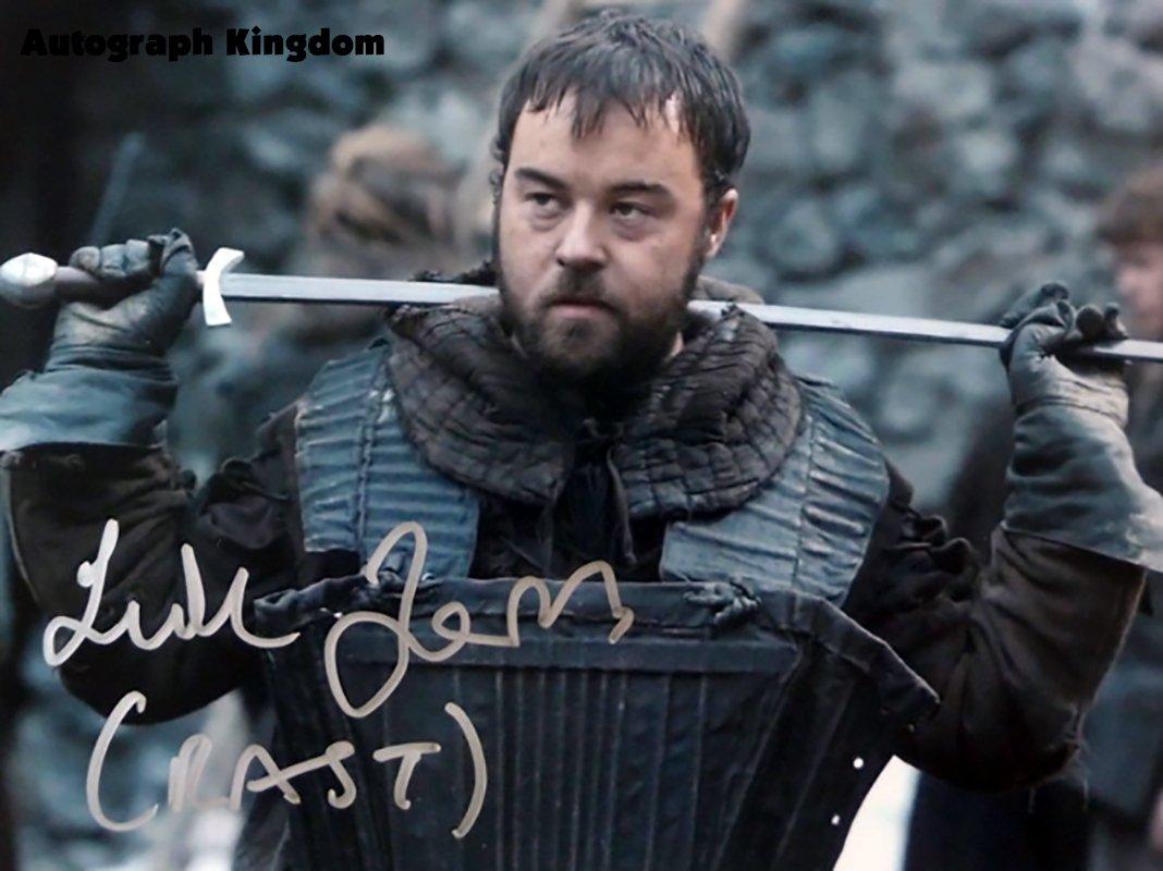 "Luke Barnes Game Of Thrones 8 x 10"" Autographed Photo - (Ref:1142)"
