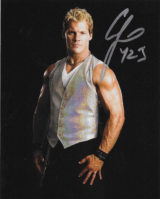 """Chris Jericho WWF / WWE Wrestler 8 x 10"""" Autographed Photo (Reprint :1151) Wrestling Autographs"""