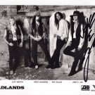 "Badlands Jake E Lee  8 x 10"" Autographed / Signed Photo - (Reprint:1184) ideal for Birthdays & X-mas"