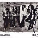 "Badlands Jake E Lee  8 x 10"" Autographed Photo - (Ref:1184)"