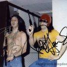 "Paul Stanley & Peter Criss Rare 8 x 10"" Autographed Photo - (Ref:1189)"