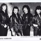 "Black Sabbath Neil Murray, Tony Iommi & Tony Martin  8 x 10"" Autographed Photo - (Ref:1191)"