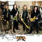 "Stryper (Sweet, OZ Fox & Perry Richardson) 8 x 10"" Autographed Photo - (Reprint :1192)"
