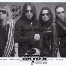 "Stryper (Sweet, OZ Fox & Perry Richardson) 8 x 10"" Autographed Photo - (Ref:1193)"