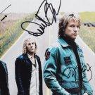 "Jon Bon Jovi, David Bryan and Tico Torres 8 x 10"" Autographed Photo (Reprint:1194) Great Gift Idea"