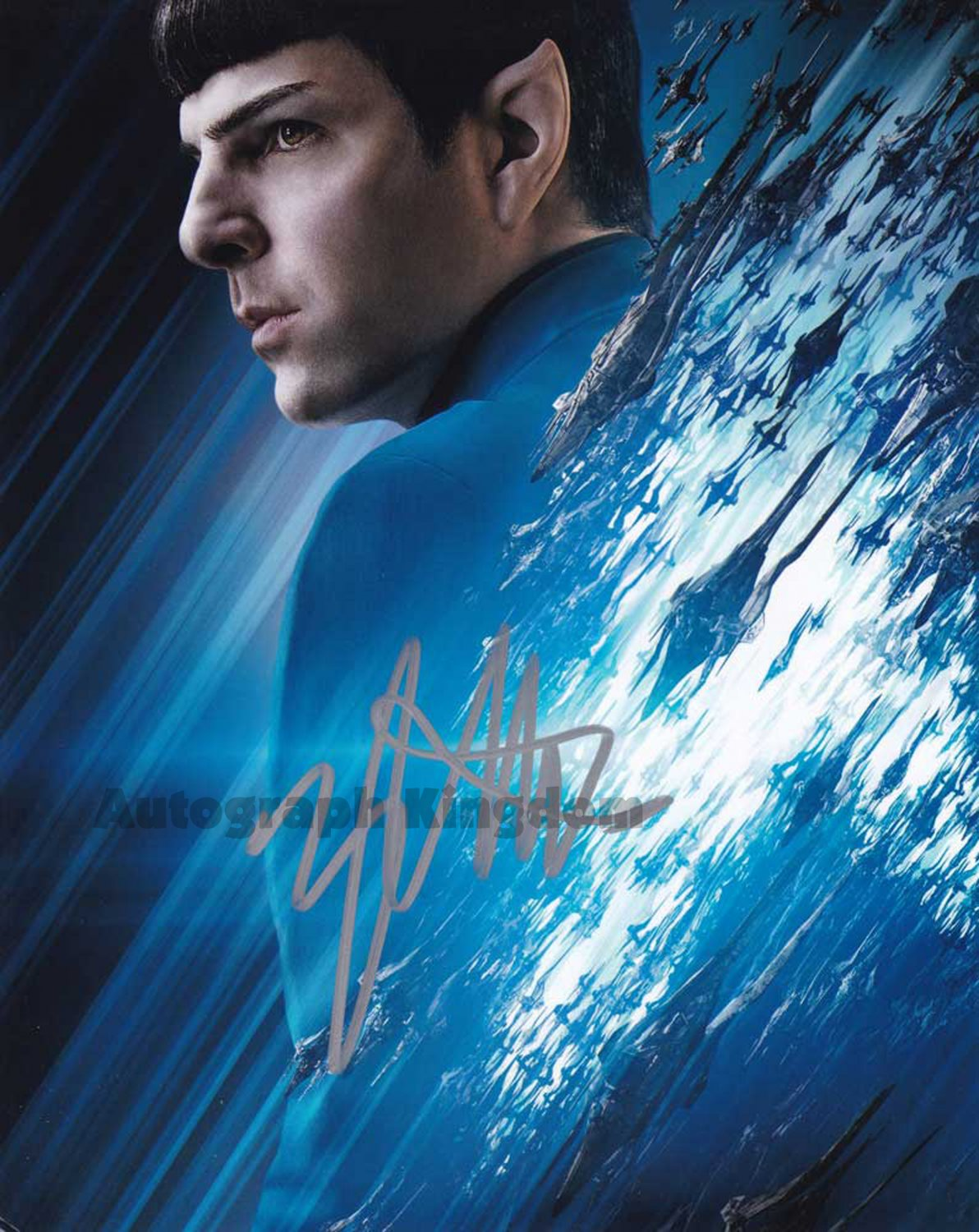 """Zachary Quinto Star Trek Into The Darkness 8 x 10"""" Autographed Photo (Reprint:1247) Great Gift Idea!"""