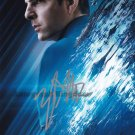 "Zachary Quinto Star Trek Into The Darkness 8 x 10"" Autographed Photo (Reprint:1247)"