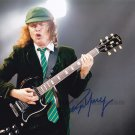 """Angus Young of AC/DC 8 x 10"""" Autographed Photo (Reprint:1252) ideal for Birthdays & X-mas"""