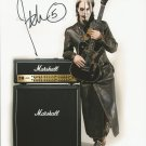 """John 5 Guitarist 8 x 10"""" Autographed Signed Photo (Rob Zombie / Marilyn Manson)"""