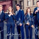 How I Met Your Mother Cast x 5 Autographed Photo (Ref:1280)