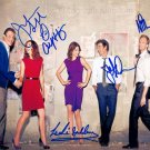 How I Met Your Mother Cast x 5 Autographed Photo (Ref:1281)