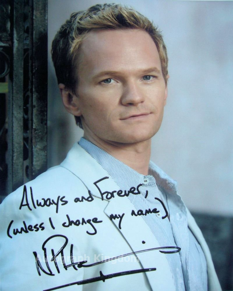 """Neil Partick Harris 8 x 10"""" Signed Autographed Photo How I Met Your Mother (Reprint:1291)"""