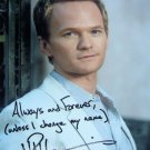 "Neil Partick Harris How I Met Your Mother 8 x 10"" Autographed Photo (Ref:1291)"