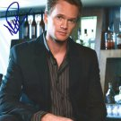 "Neil Partick Harris 8 x 10"" Autographed Signed Photo How I Met Your Mother (Reprint:1294)"
