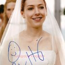 "Alyson Hannigan 8 x 10"" Autographed Photo / American Pie /  How I Met Your Mother (Reprint :1297)"