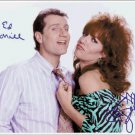 "Married With Children Katey Sagal and Ed O'Neil 8 x 6"" Autographed Photo (Ref:1298)"
