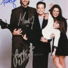 "Party Of Five Cast: Campbell, Fox, Chabert, Wolf 8 x 10"" Signed Photo - (Reprint 1302)"