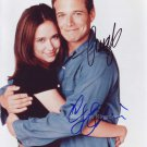 "Party Of Five Cast Jennifer Love Hewitt & Scott Wolf  8 x 10"" Signed Photo - (Ref:1303)"