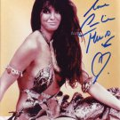 "Caroline Munro I Don't Want To Be Born 8 x 10"" Signed Photo - (Reprint :1306)"