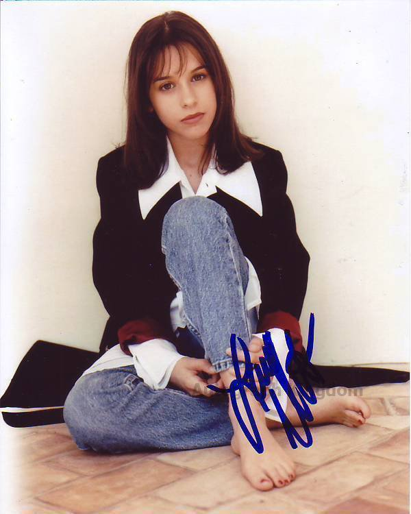 "Lacey Chabert Party Of Five 8 x 10"" Autographed Photo - (Reprint:1310) ideal for Birthdays & X-mas"