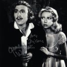 "Gene Wilder & Terri Garr Young Frankenstein 8 x 10"" Autographed Photo (Ref:1324)"